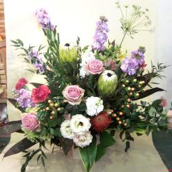 移転祝い 花 【生花アレンジ】ネイティブリフレッシュ 二子玉川の花屋