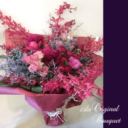 還暦祝いに贈る花 レッドファンタジー花束