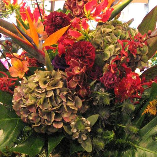 コンサートに贈る花 アレンジメント 装花 二子玉川の花屋 ネイティブフラワーイーダ