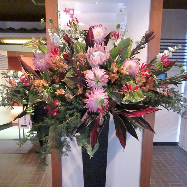 新装開店 お祝い花 スタンド花 東京  ネイティブフラワーイーダ グリーンスター