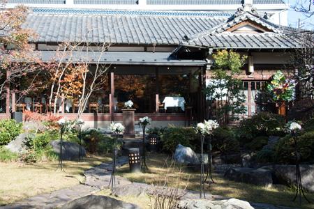 東京小金井市 リストランテ大澤 古民家イタリアンレストラン ウェディング もう一度結婚式 10年婚